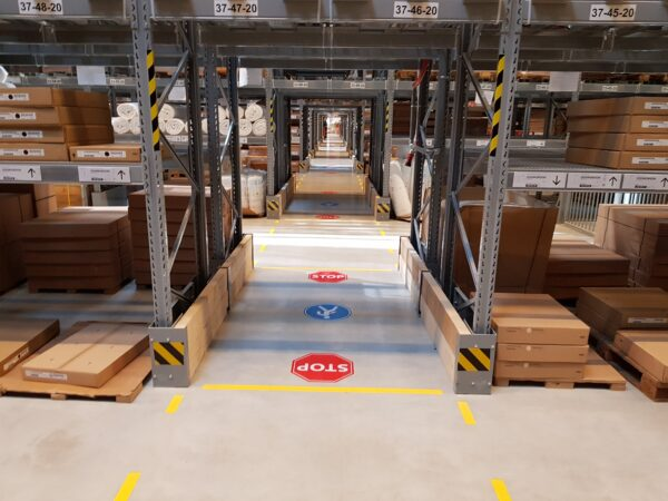 Pramoninių patalpų ženklinimo produkcija ir paslaugos